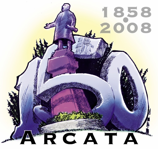 NOT the final Arcata 150 logo